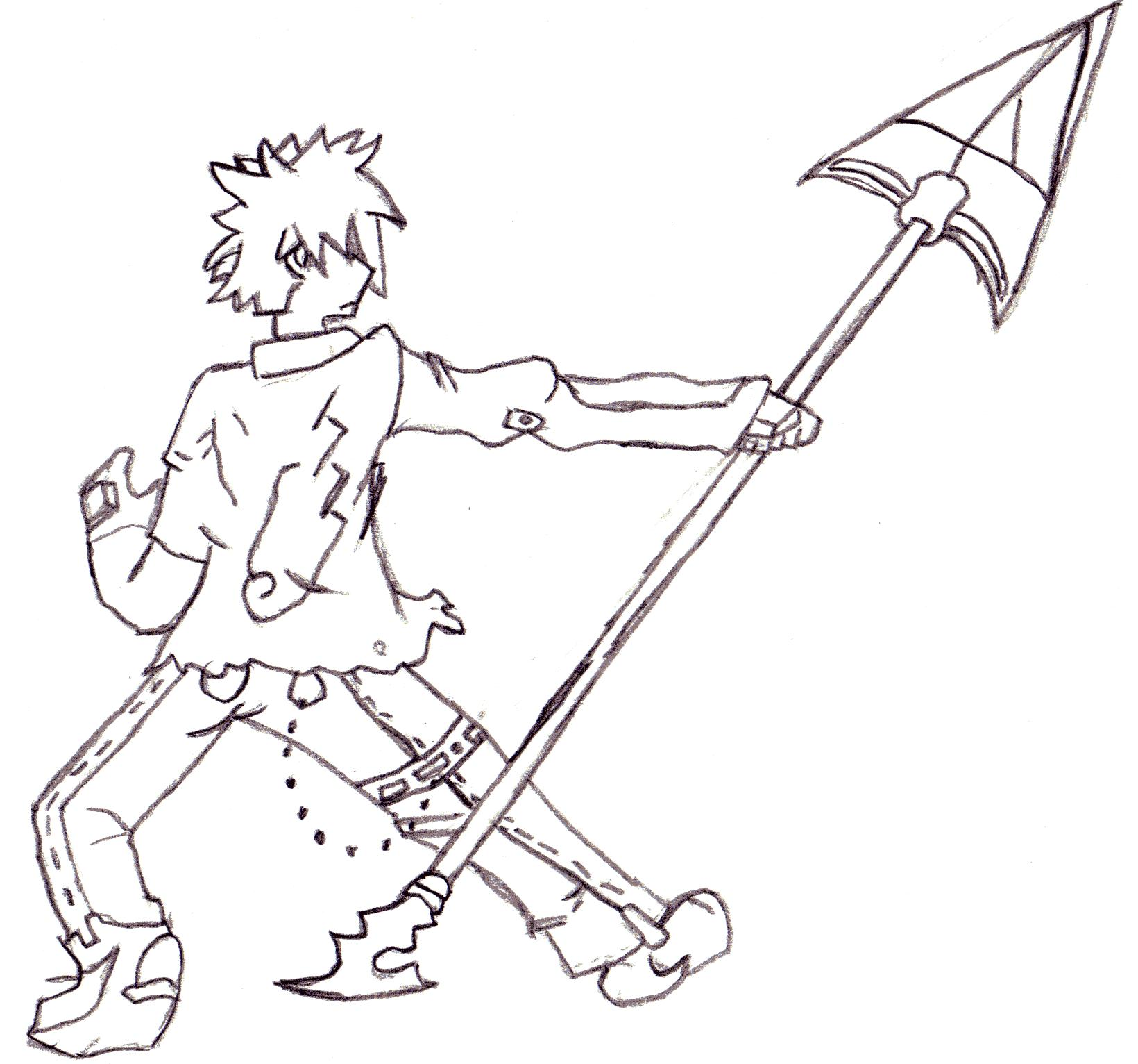 Spear warrior