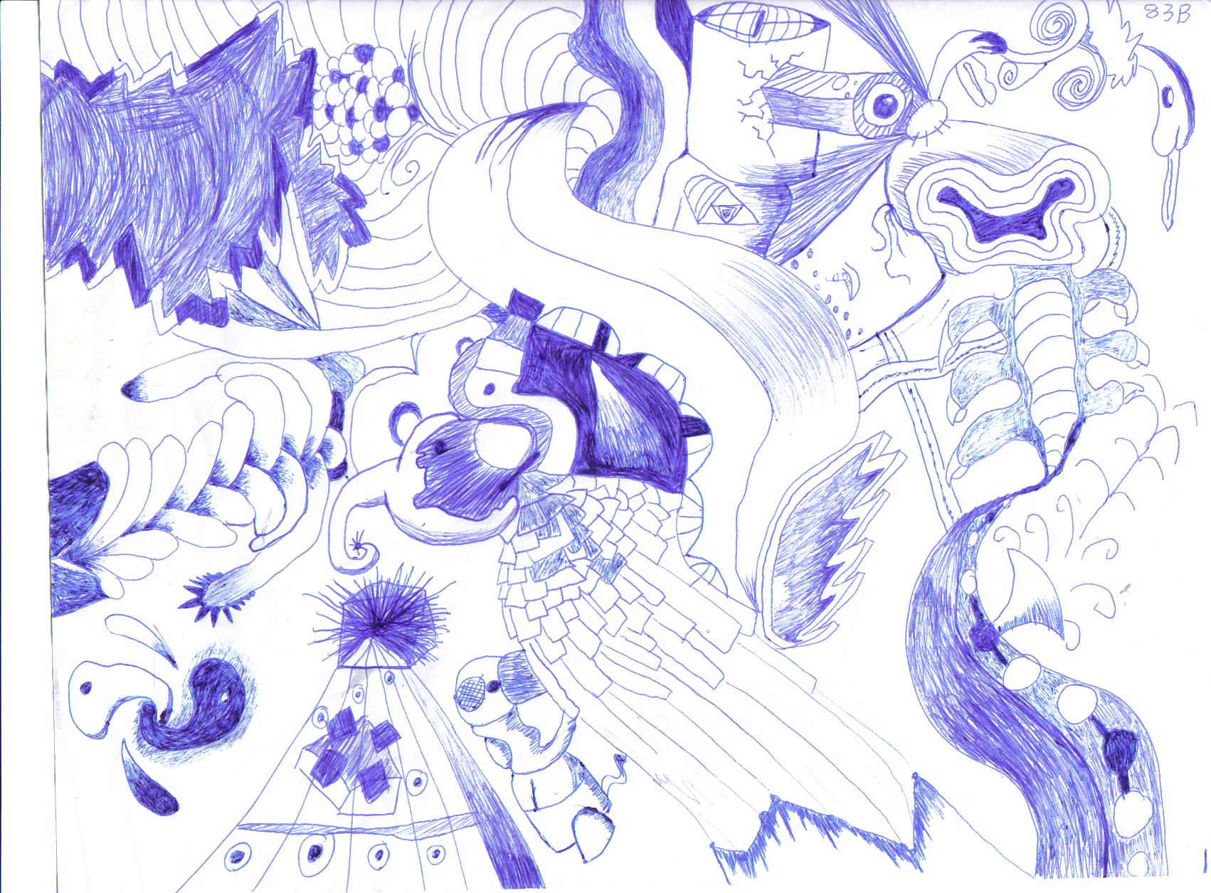 blue pen breeze