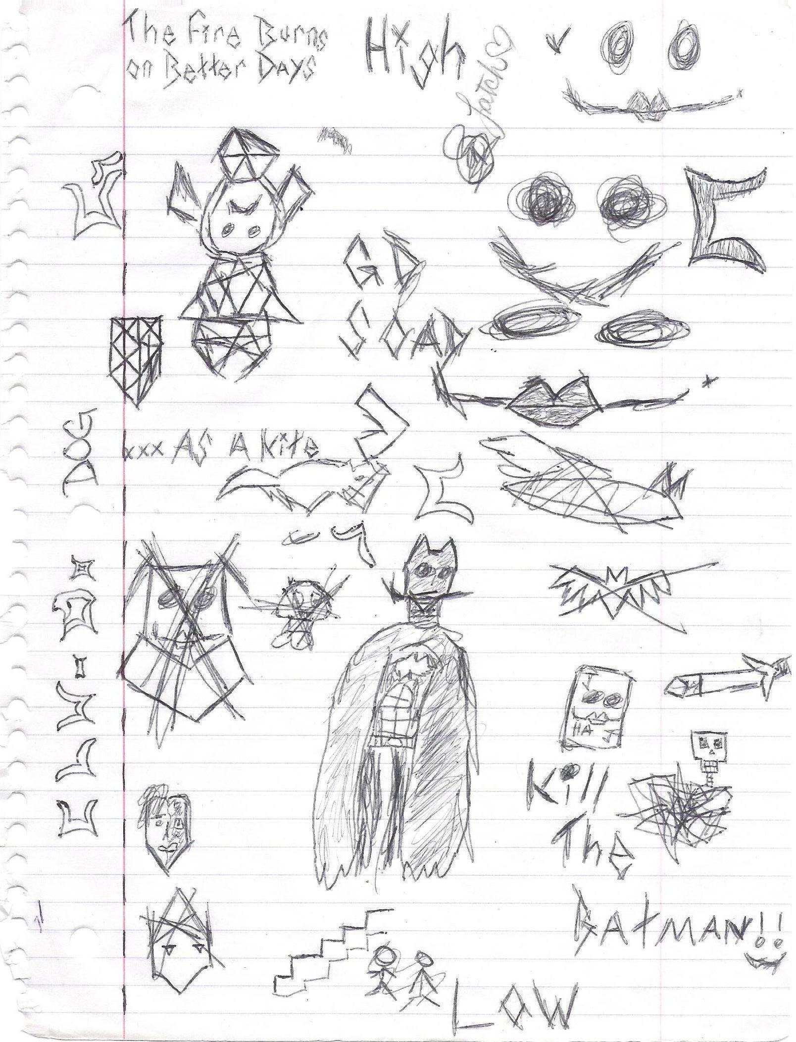 CLU Doodlez #5