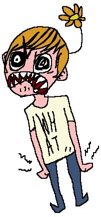 Angry Flower Brat
