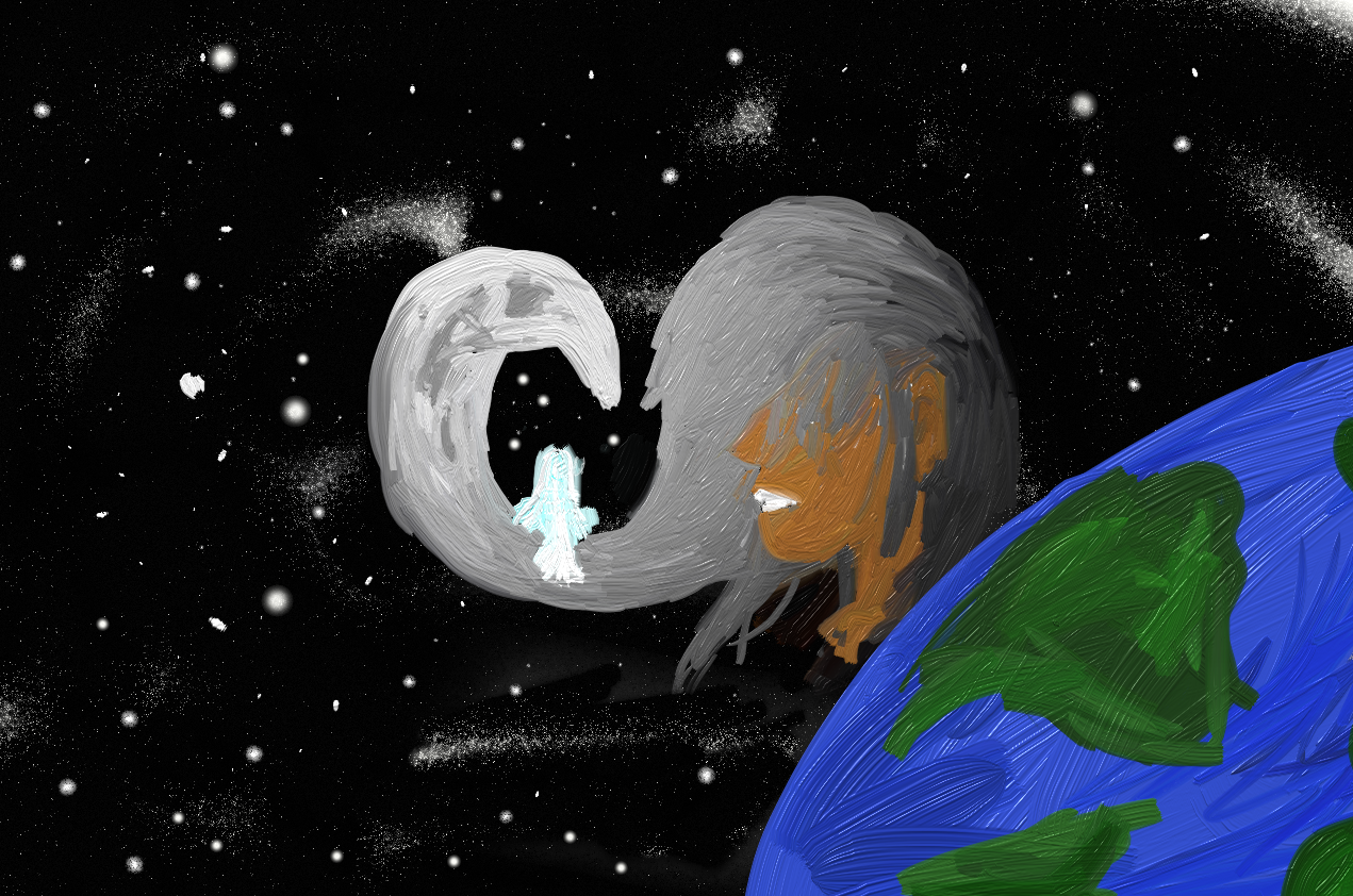 The Moon and Earth Waltz