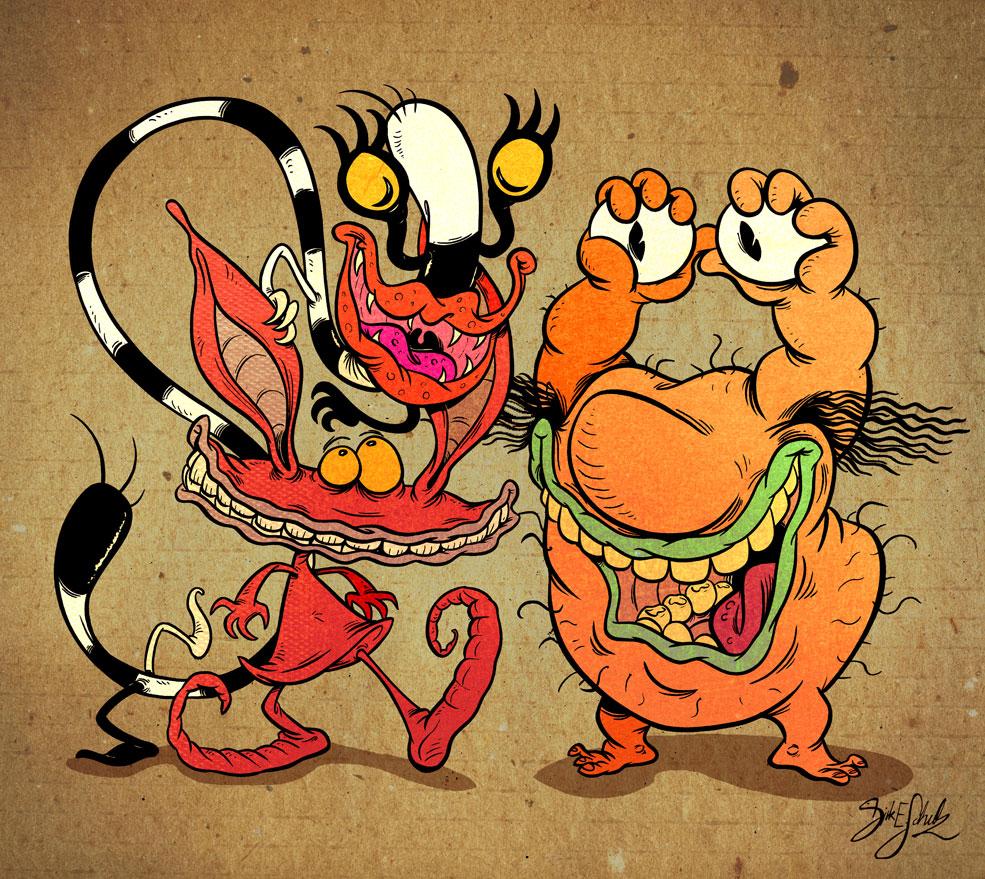 AAAAH! Real Monsters!