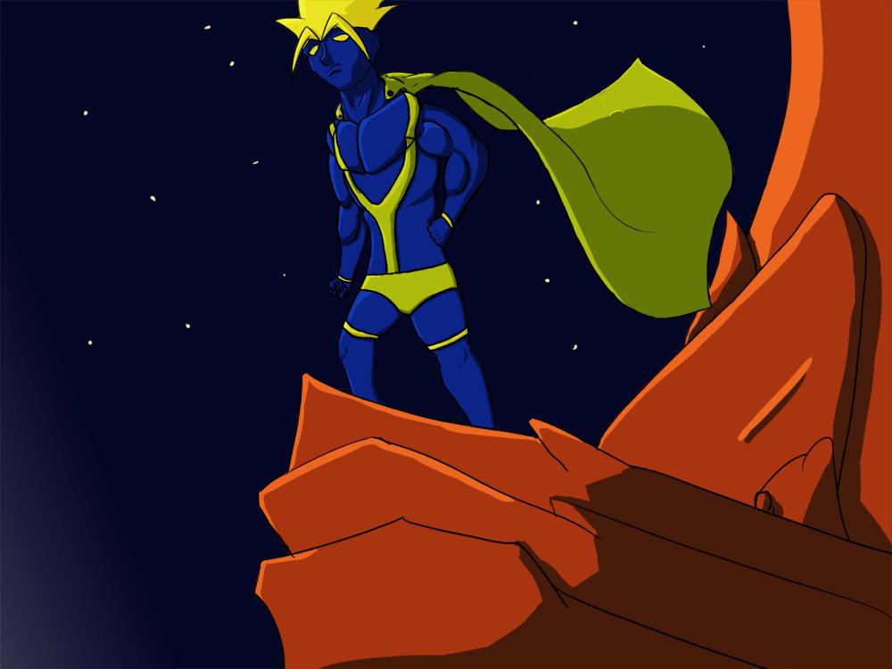 The Blue Mantis!