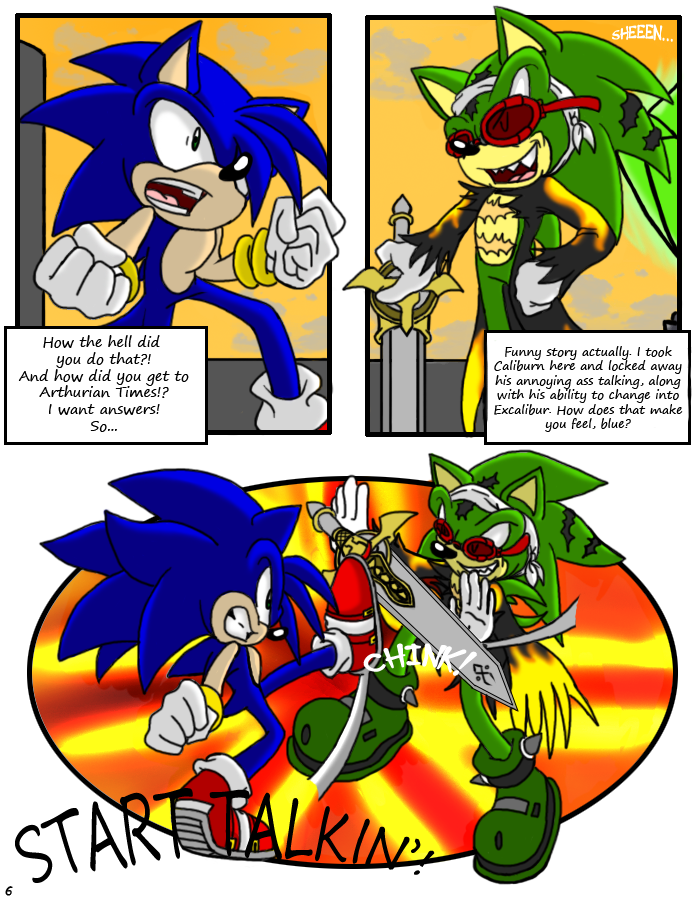 SONIC X.S. - Page 6