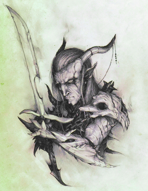Dragon Elf ... fantasy