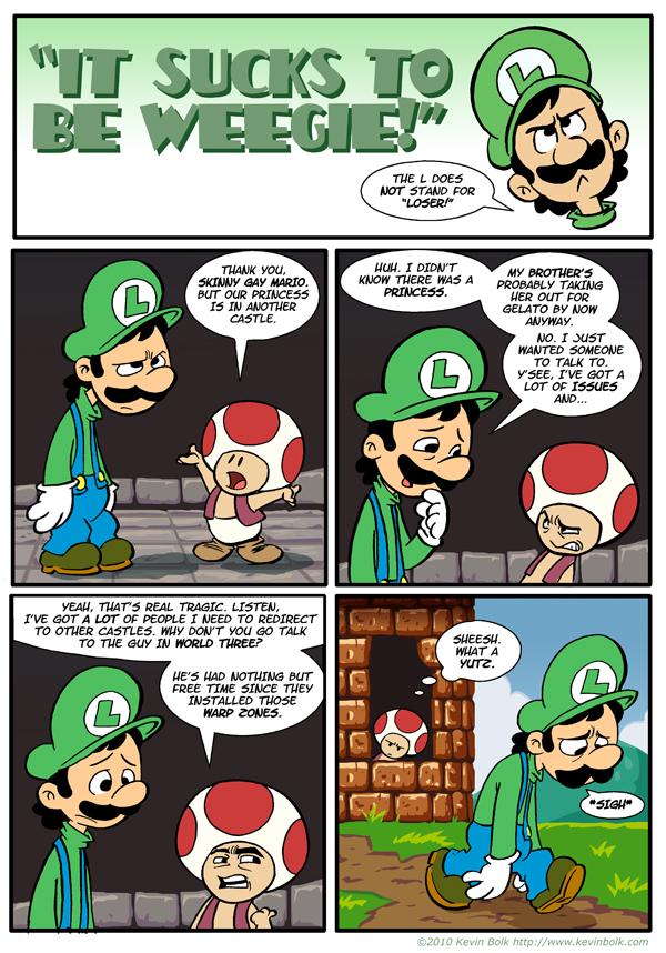 Sucks to be Luigi: Castles