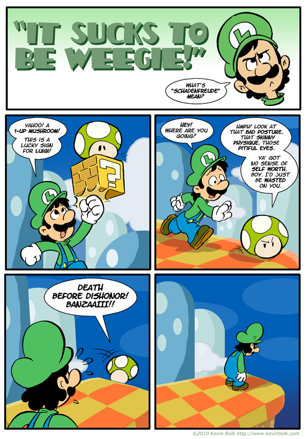 Sucks to be Luigi: 1-UP