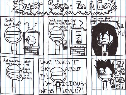 Super Saiyen In A Can