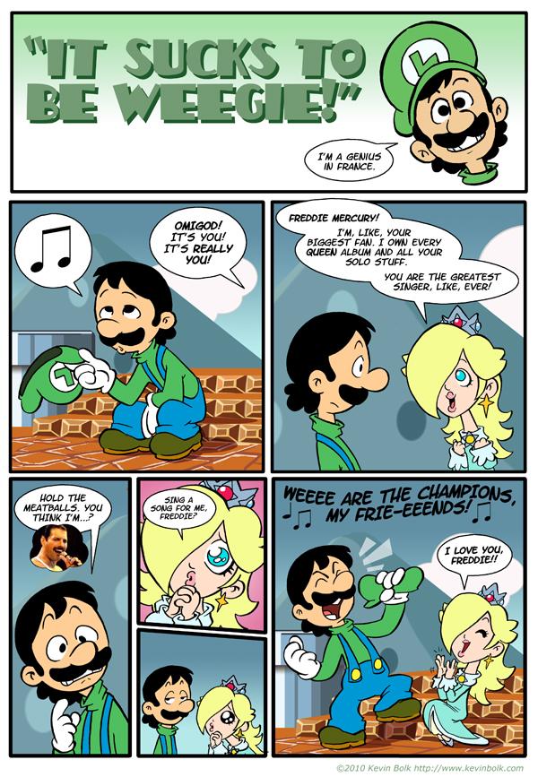 Sucks to be Luigi: Freddie