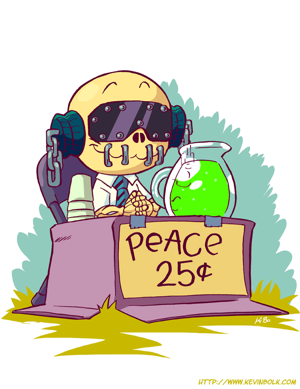 Peace Sells, But Who's Buying?
