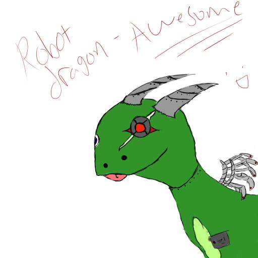 Robot Dragon- Awesome