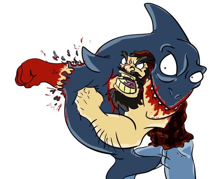 Lumberjack Vs. Shark