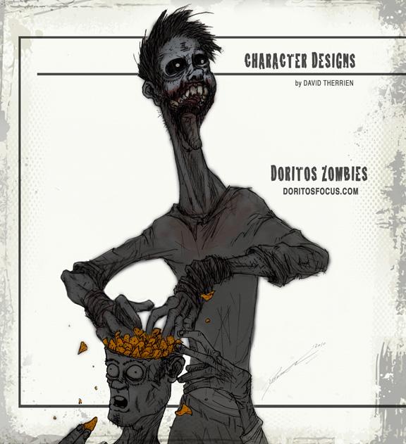 Zombie's Snack