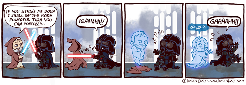 Star Wars Funnies: Obi Wan
