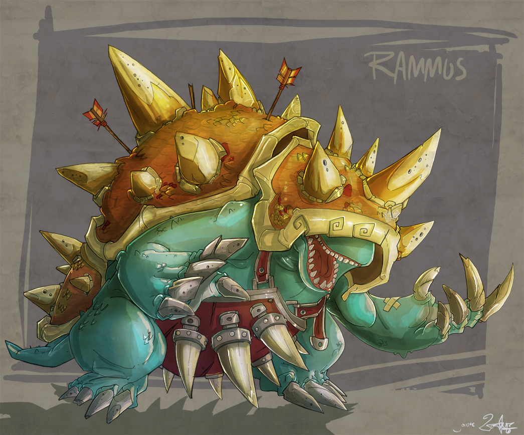 rammus the armordillo!