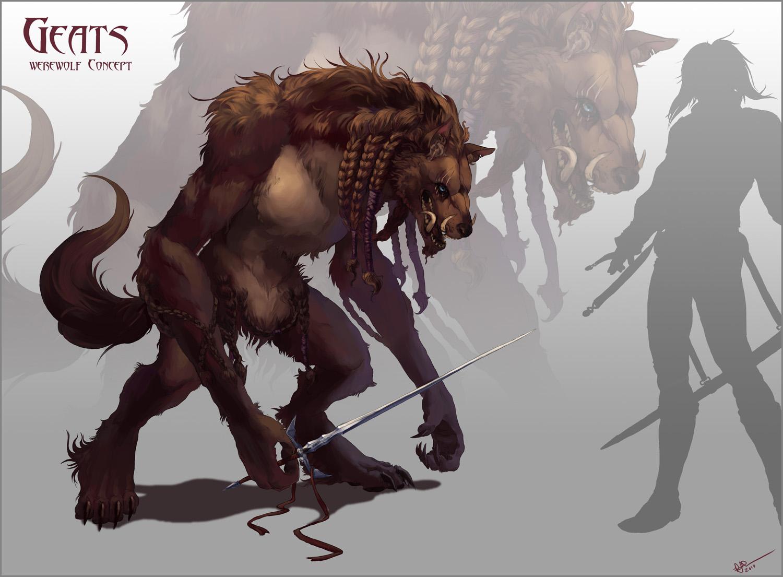 Geats-Werewolf