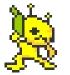 Alien Hominid in Pixels