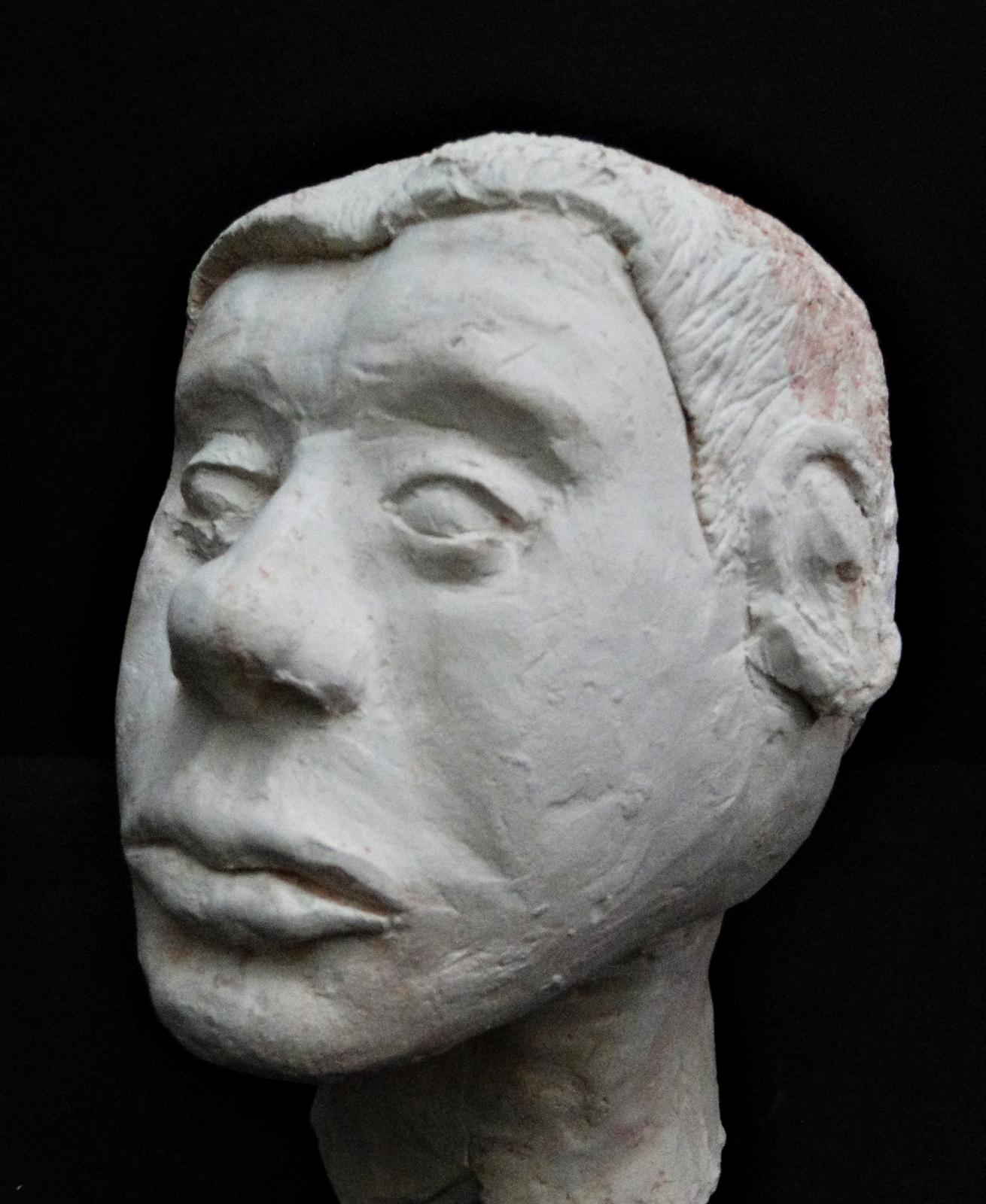 Clay Self Portrait