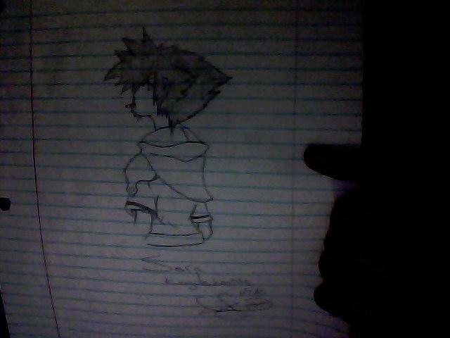 Sora from Kingdom Hearts