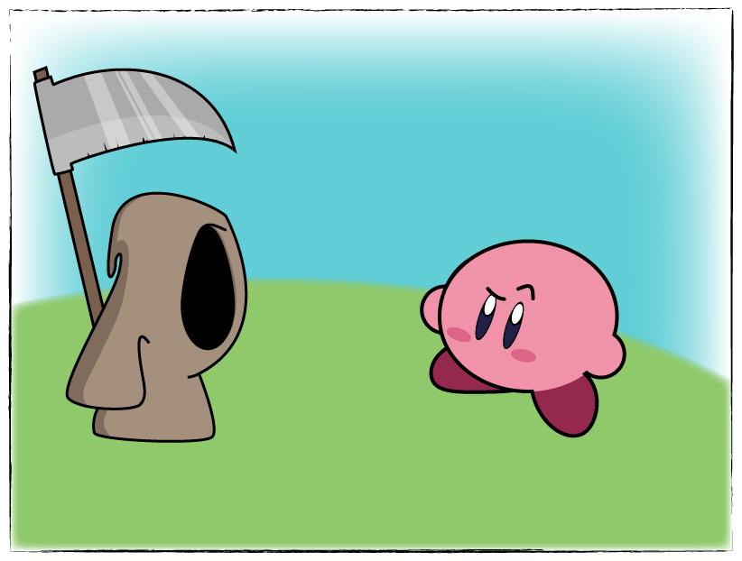 Kirby vs the Cloak