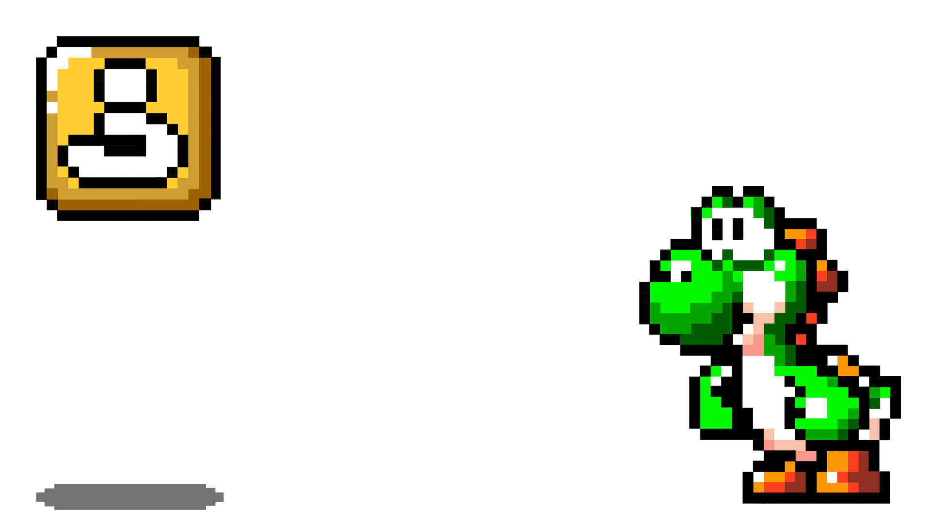 Yoshi and the Block