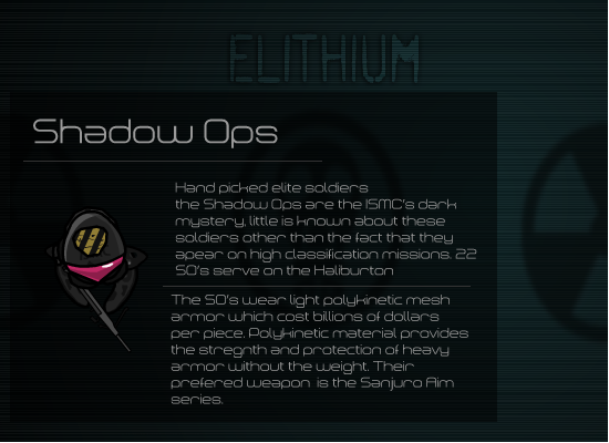 Shadow Ops Elithium