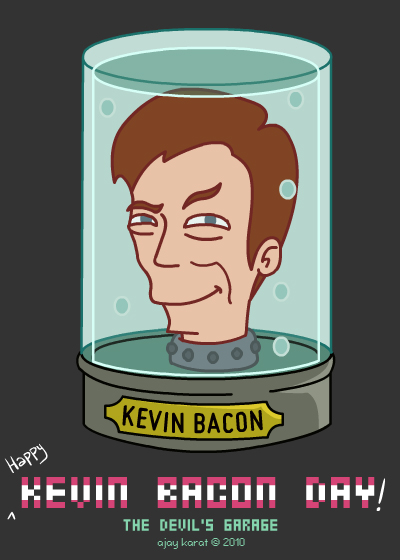 Kevin Bacon | Head in a Jar