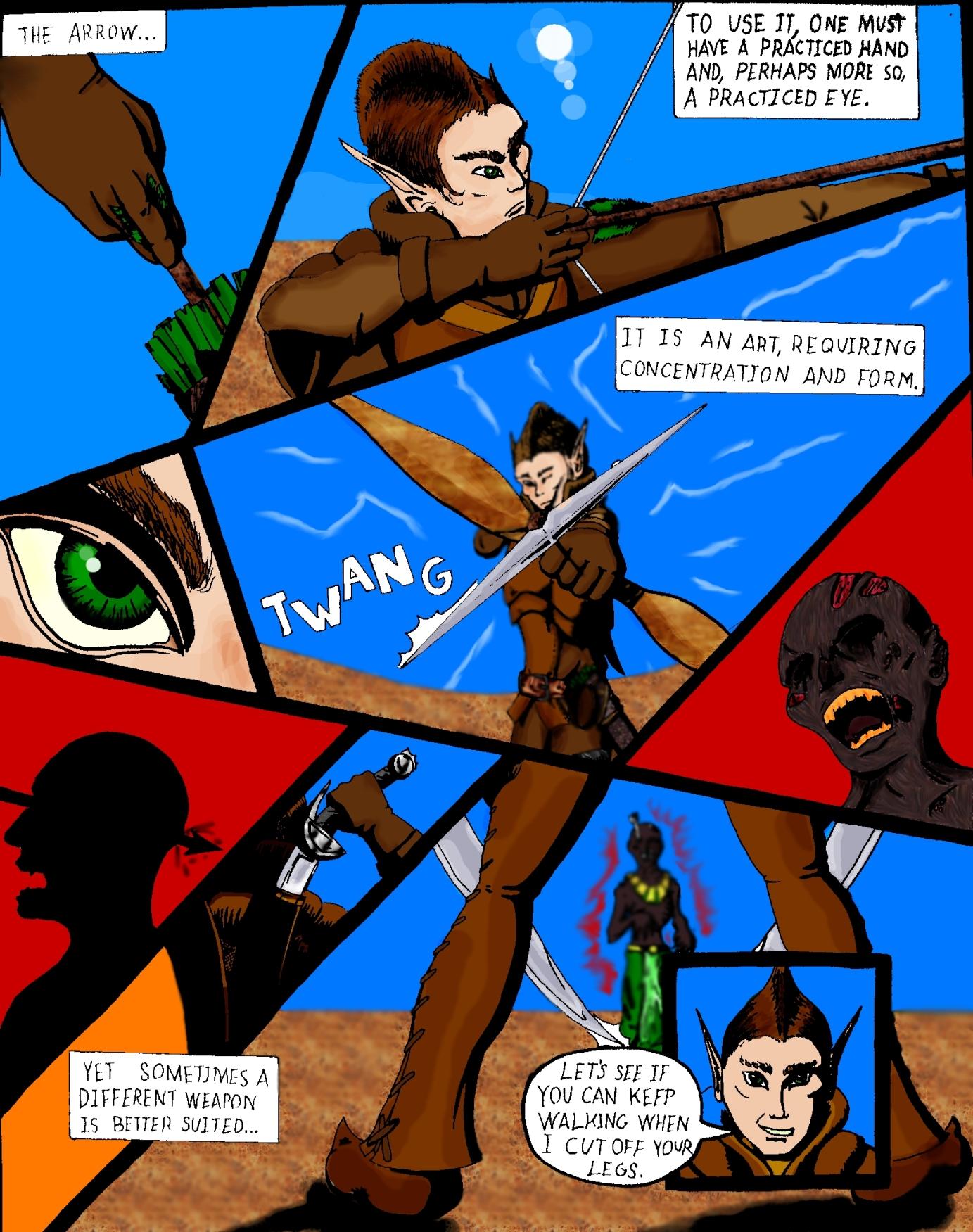 Elf Comic