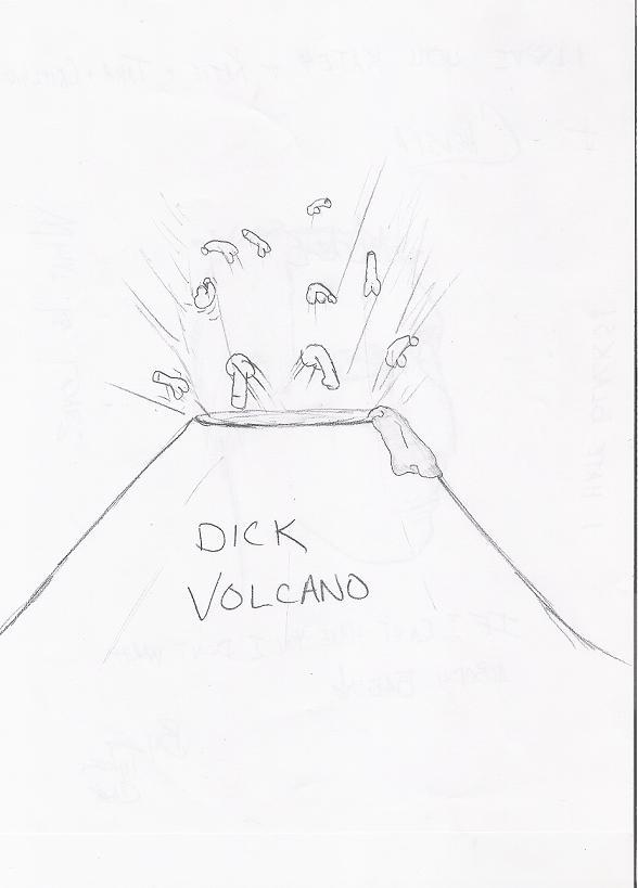 dick volcano
