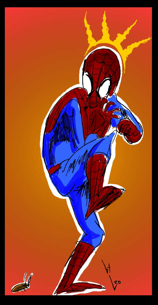spider man is afraid of cheap