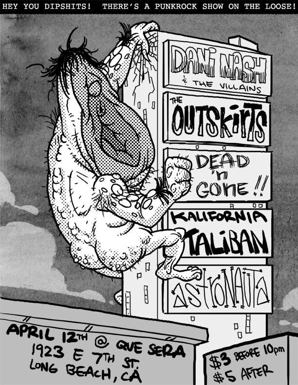 Punk Rock Poster #1.