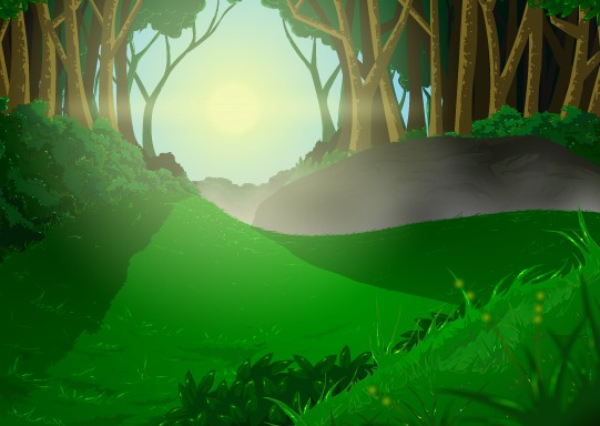 Forest Background By Shayphis On Newgrounds