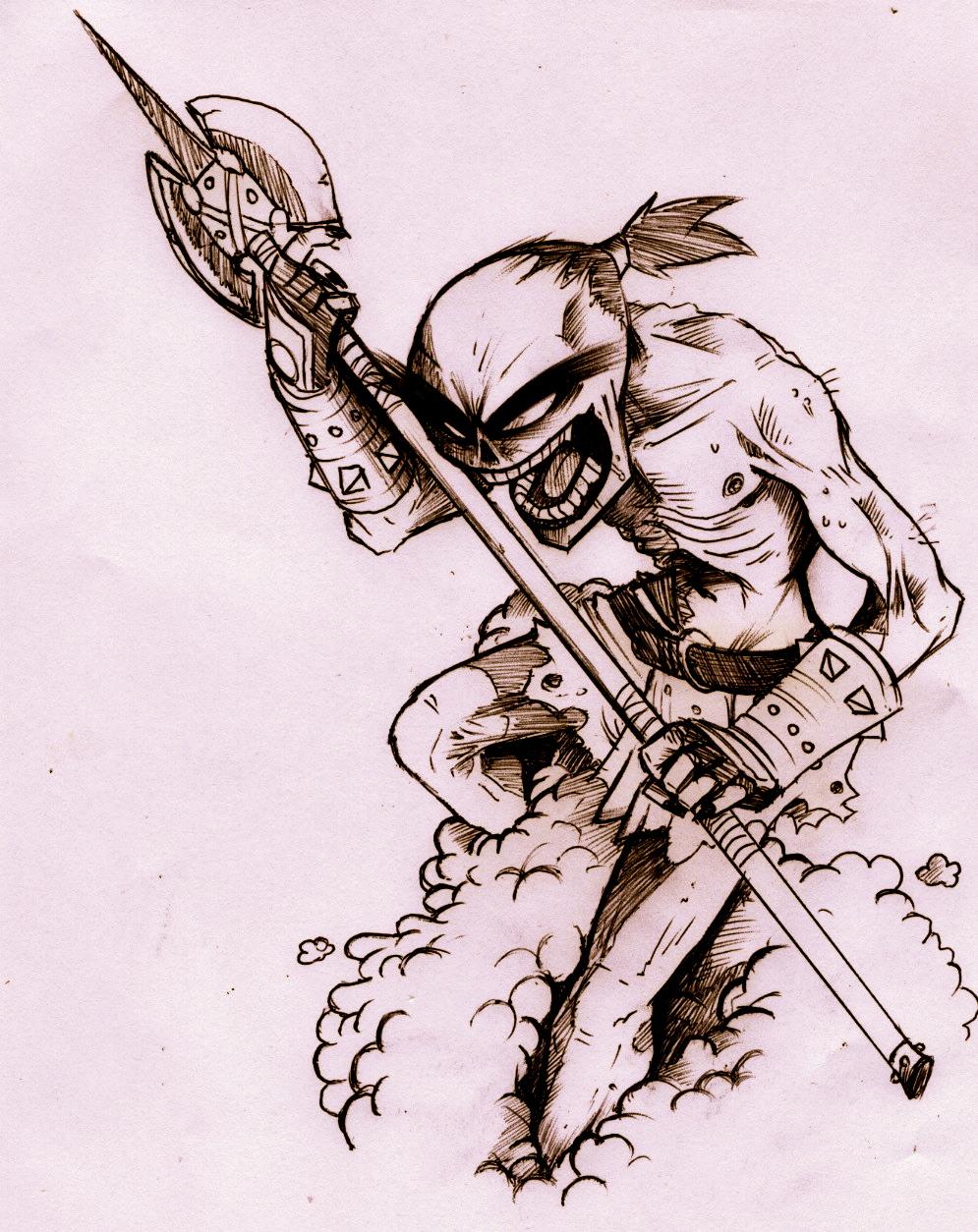 zombie monkey magic!