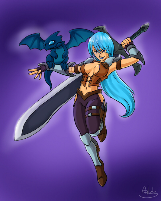 lady dragona