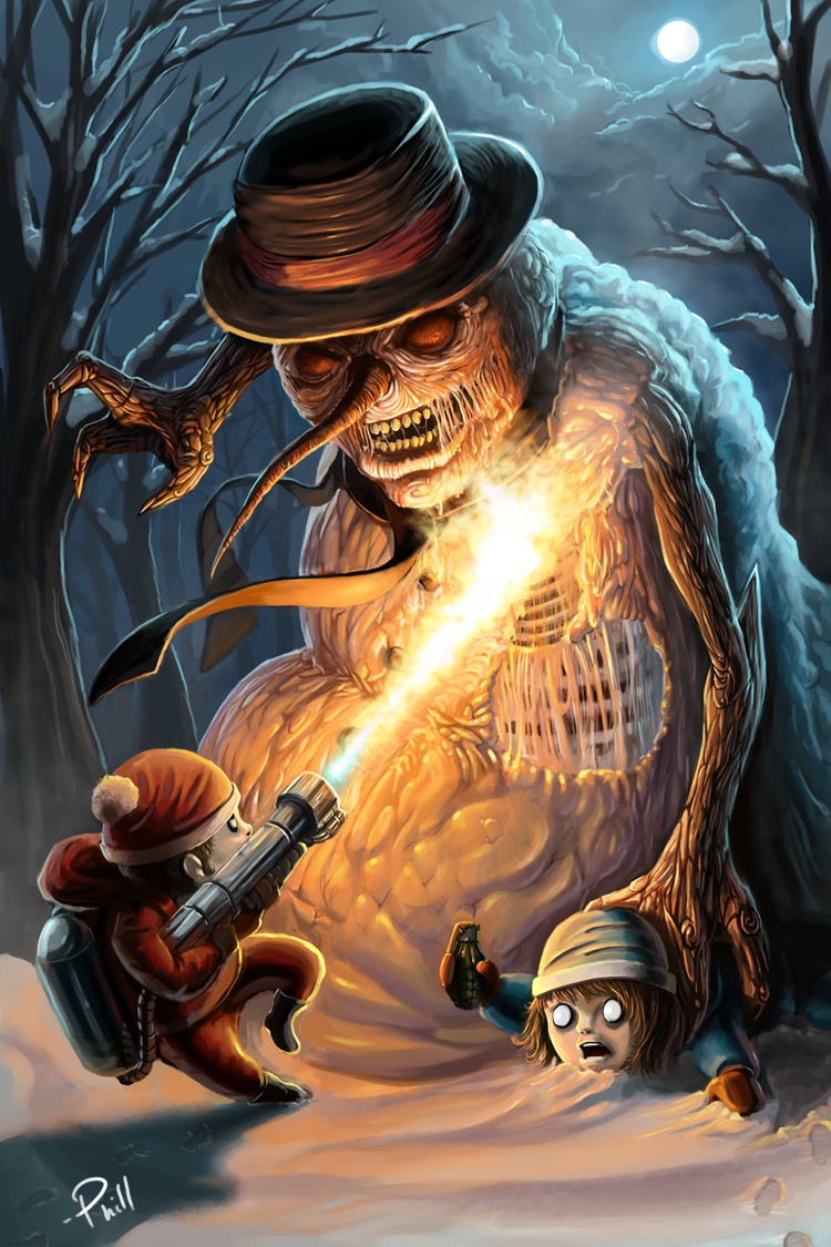Scorching the Evil Snowman