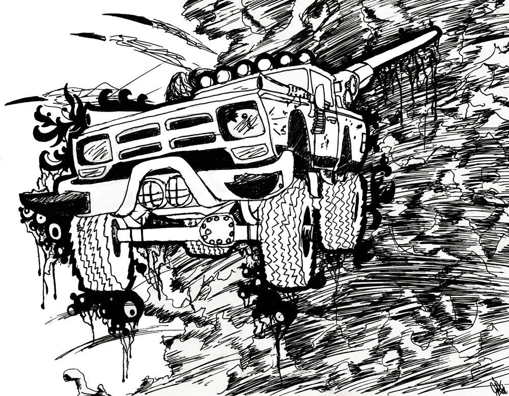 The Apocalypse Dodge