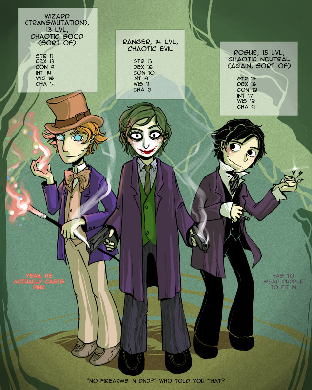 super chaotic trio