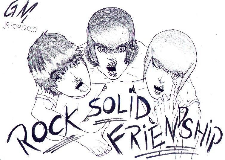 Rock Solid Friendship