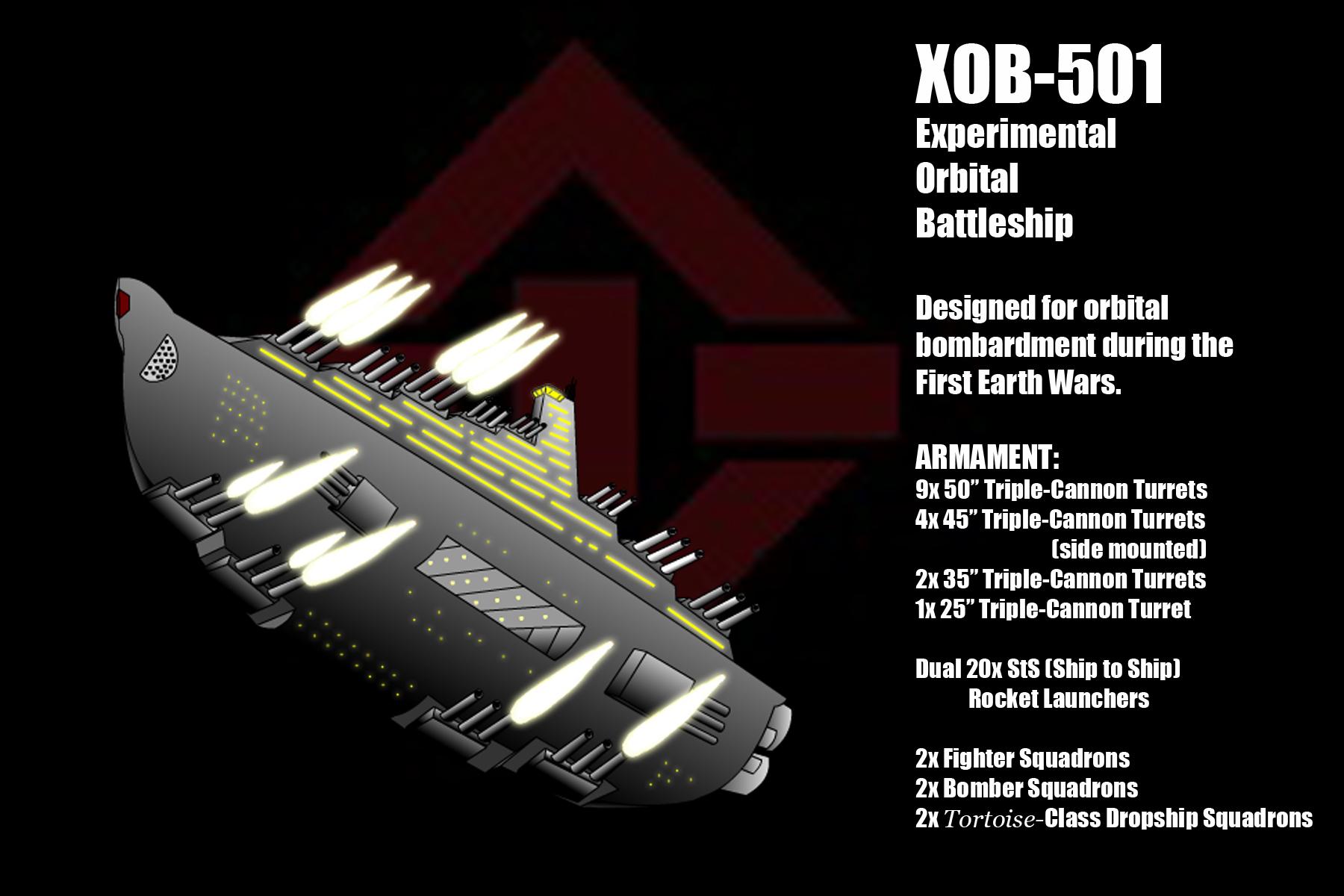 XOB-501 Orbital Battleship