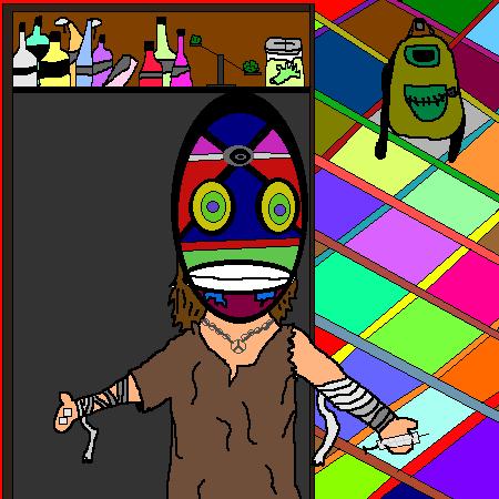 Masked druggy