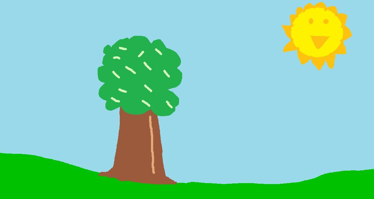 Sunny Background Sketch