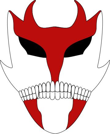 Vizard mask , red devil