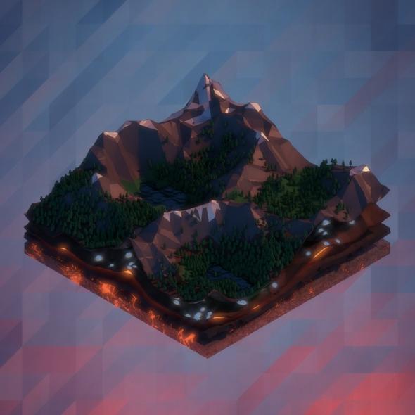 Minimal landscape by betalars on newgrounds for Minimal art landscape