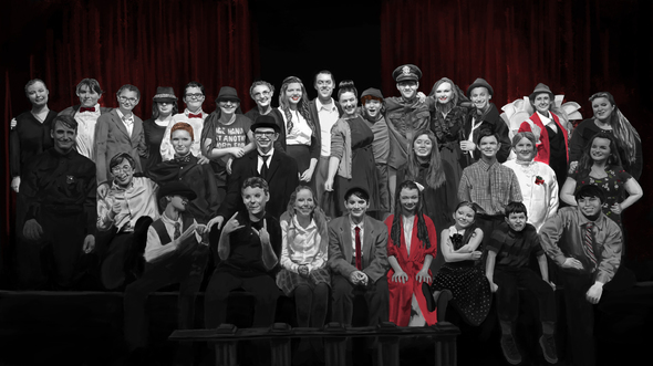 Painting Of It 39 S A Wonderful Life Cast Photo By Goldenyakstudio On Newgrounds