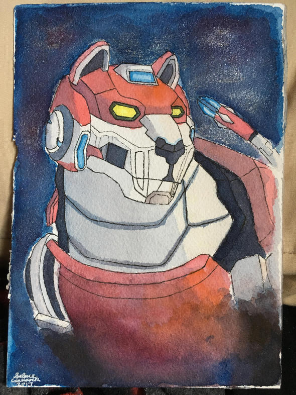 Voltron Red Lion By Rosesarentread On Newgrounds