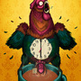 Cock Clock by TurkeyOnAStick