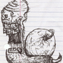 HARDCORE METAL DEATH SNAIL by LordZeebmork