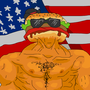 BBQBEEFBURGERMAN by CorpseGrinderClock