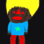 The black man. by Maximus