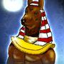 Egyptian God Anubis by FrostyBear